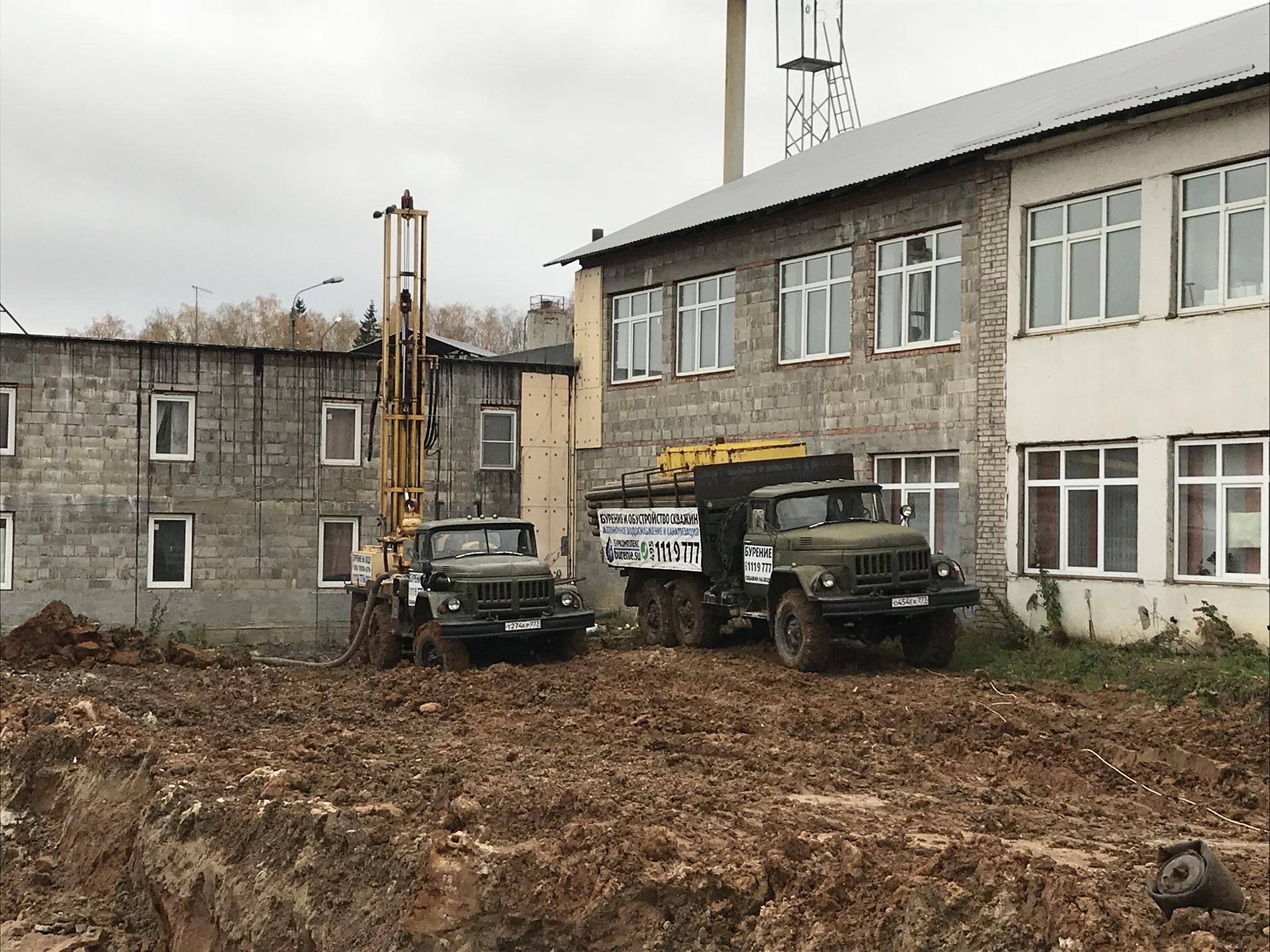 Бурение скважины в Истринском районе